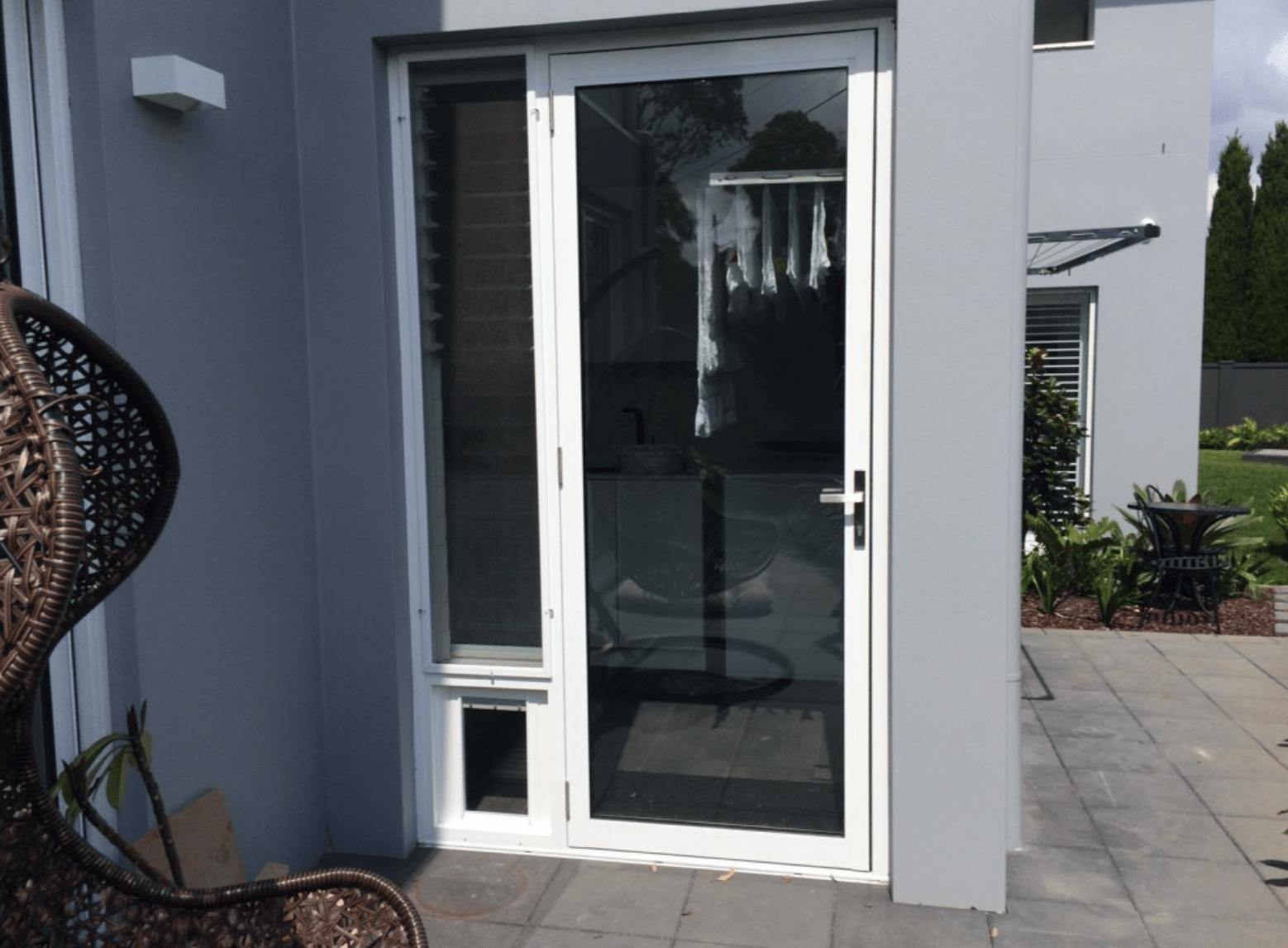 Special Custom Made pet door