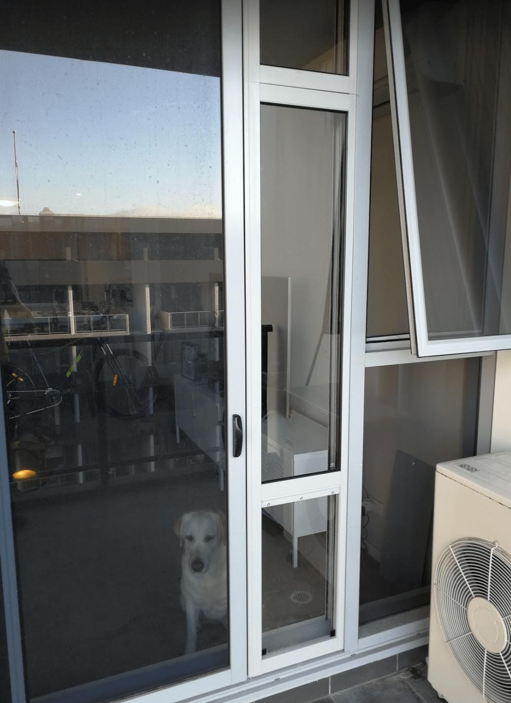 XL Pet Door Insert Custom Height