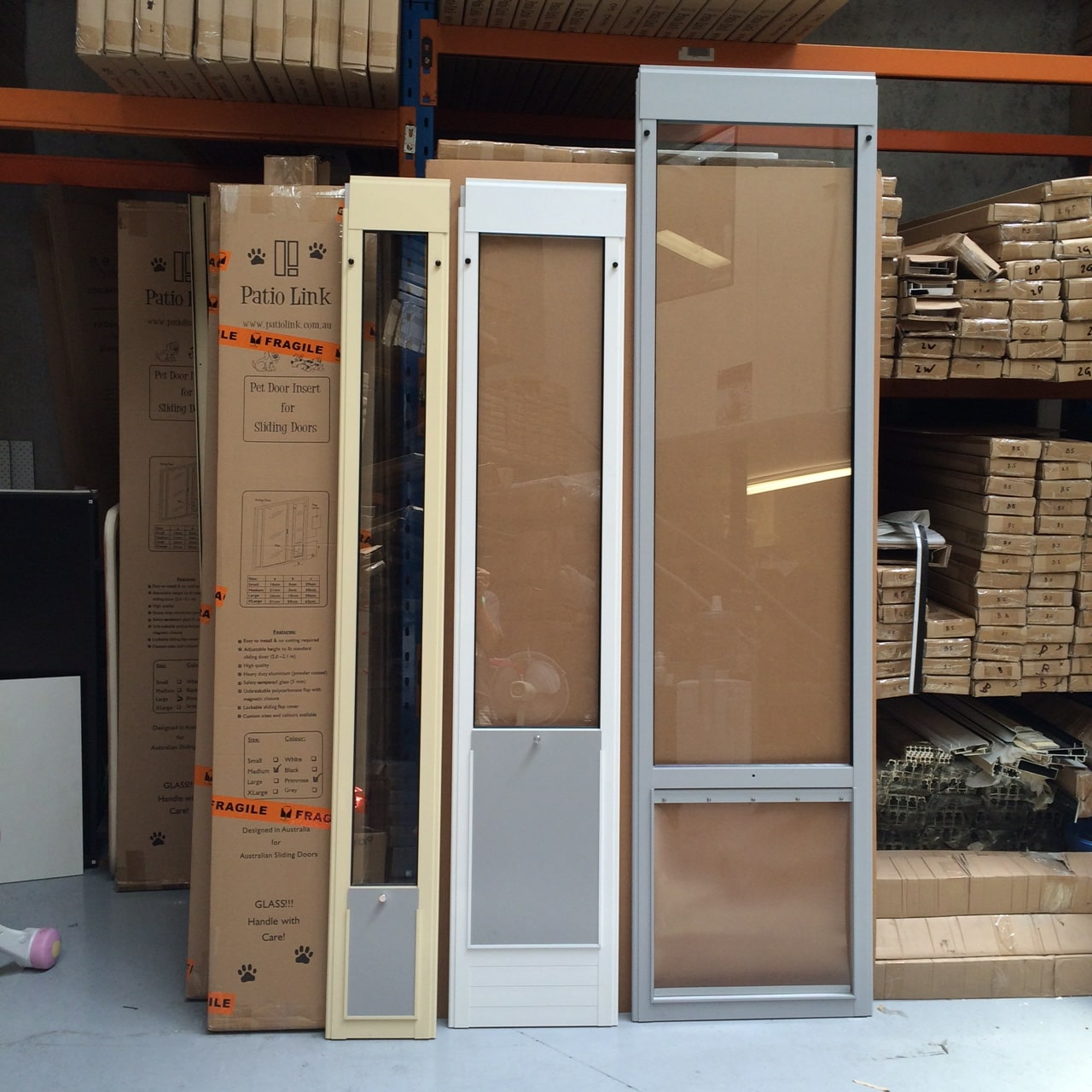 Patiolink Pet Doors+Custom Made
