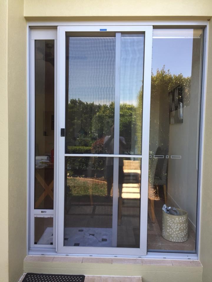 Medium Grey taller frame glass