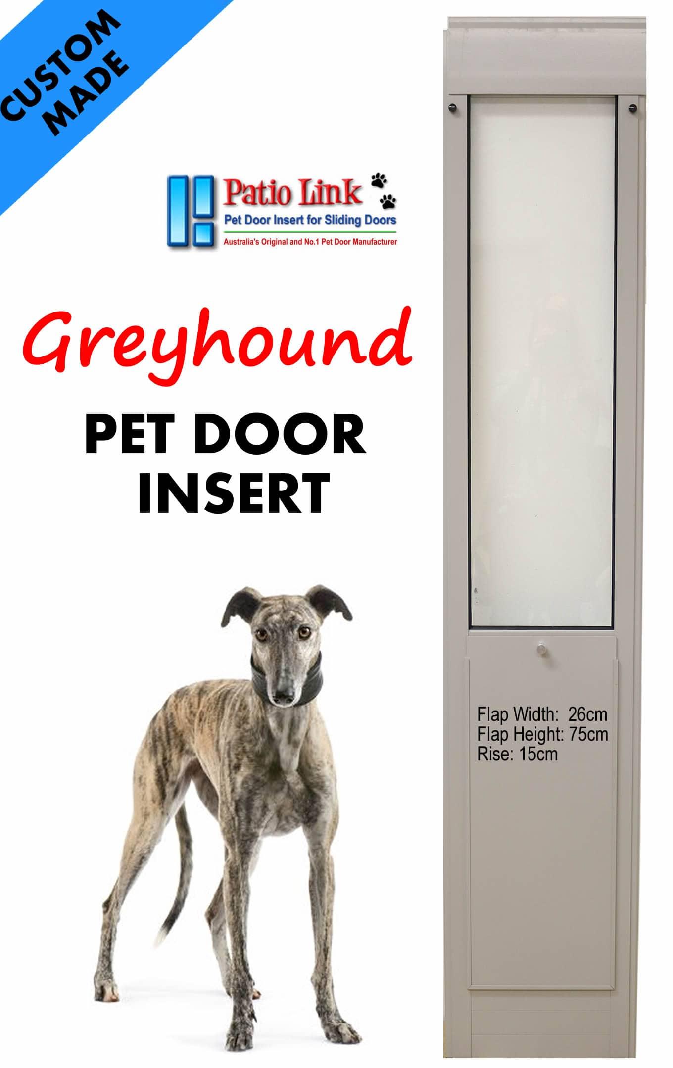 greyhound Pet Door Inset