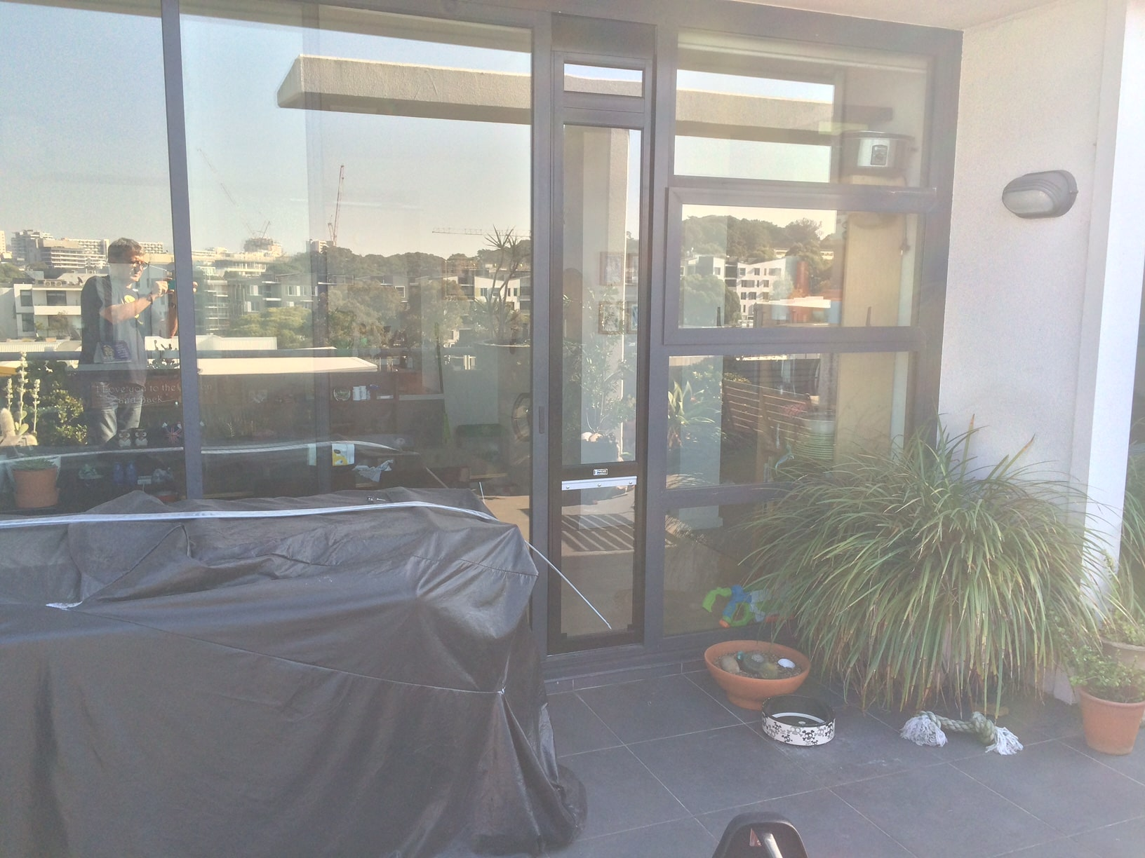 XL Black Custom 5cm rise +Window Ext