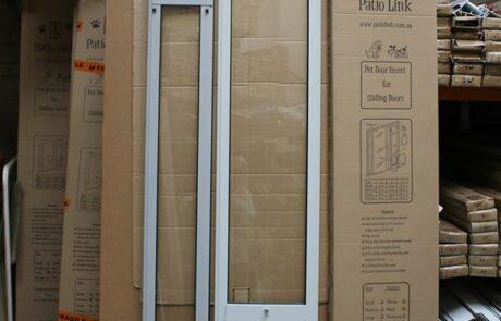 Custom Height and Colour Pet door inserts for sliding door