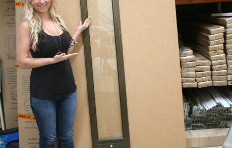 Custom Height 2.5 Pet door inserts for sliding door