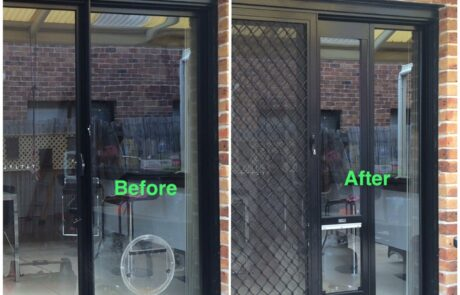 Custom Height Pet door inserts for sliding door